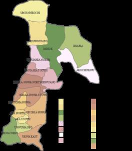 Isuikwuato LGA - Map 3